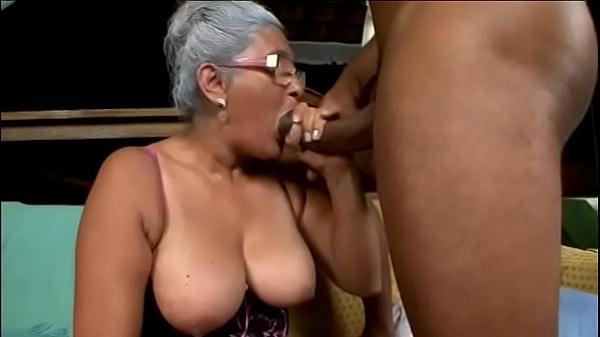 My Brazilian Grandma Sucked Cock