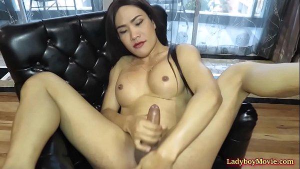 Stunning Ladyboy Marissa Minx hot missionary anal sex