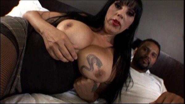 Big tit mature milf loves big black cock in Int…