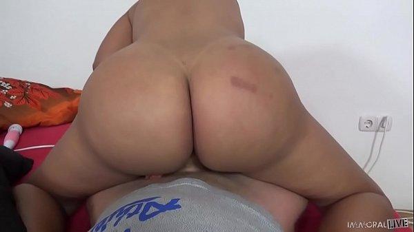 Kesha Ortega – Venezuelan big assed chick takes two dicks