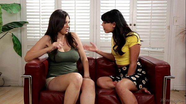 Jelena Jensen Teaches Gina Valentina To Fuck