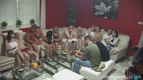 Самая большая групповушка в мире видео