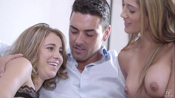 Cum4itxxx.com – Teen Threesome – Chloe Amour, Kinsley Eden