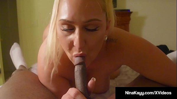 Watch Phat Ass Nina Kayy's Butt Cheeks Flap Getting Fucked!