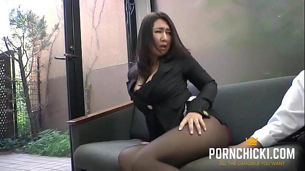 JAV Secretary fucked by her older boss - More at PornChicki.com