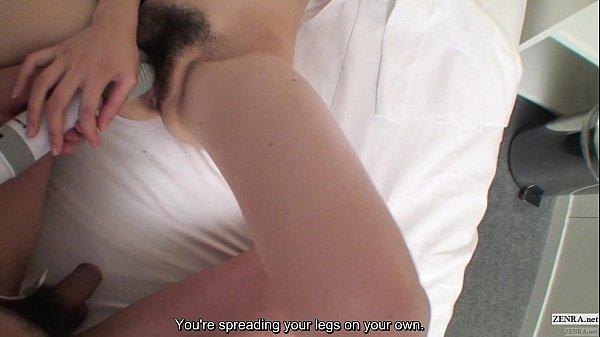 Uncensored Japanese amateurs massager threesome subtitled