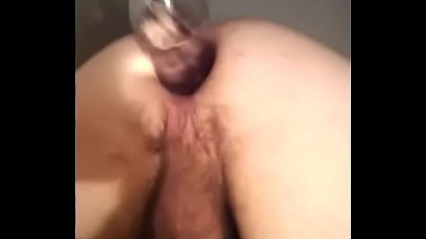 Anal insertions coke bottles