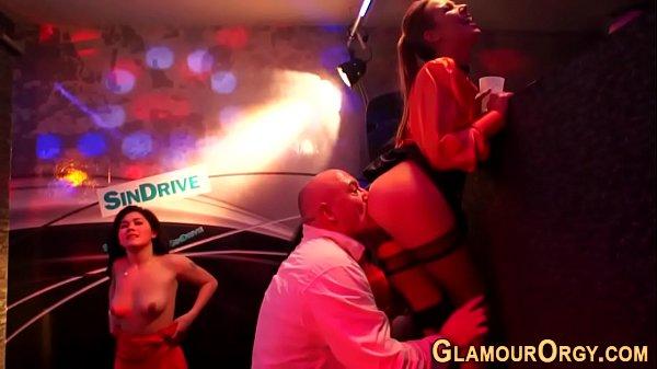 Glam party sluts riding