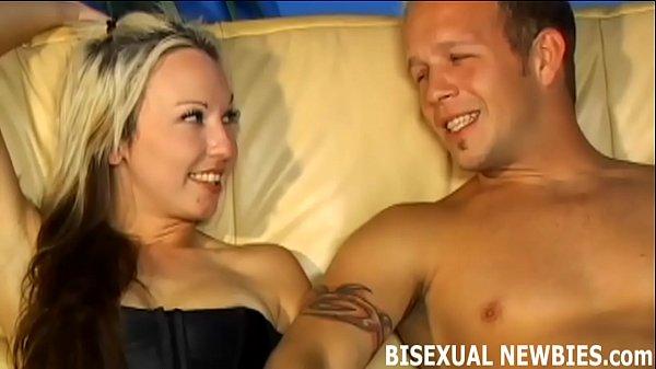 Секс на катере с блондинкой