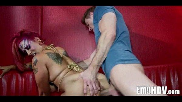 Emo slut with tattoos 0992