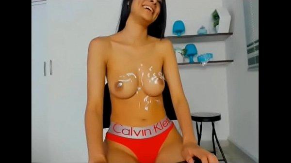 Hot slut teased big tits with lotion live cam xxx