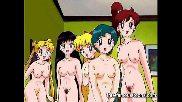 Image Sailormoon lesbian hentai