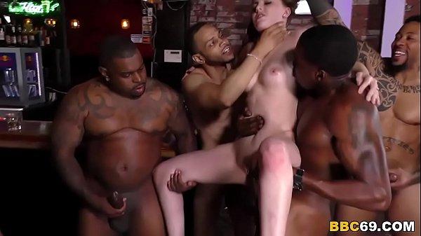 Групповой секс с неграми секс фото