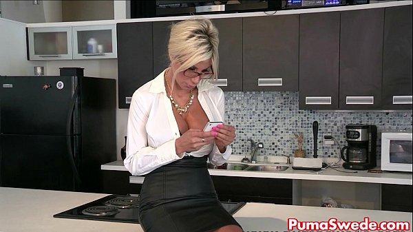 Puma Swede & Bobbi Eden Are The Lesbian Office Slut!  thumbnail