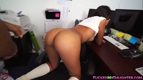 Hardcore office fucking with Victoria Valencia