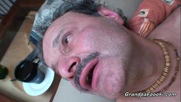 Grandpa Foooki: Mature Couple Having Sex On The Couch