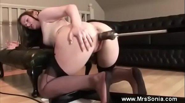 Mrs. Sonia Fucking Machine Fetish