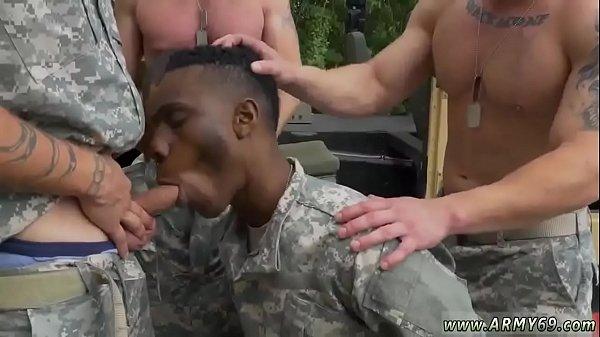Gay interracial gangbang gallery R&R, the Army6…
