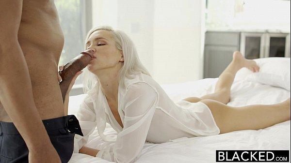 BLACKED Preppy Blonde Girlfriend Kacey Jordan Cheats with BBC