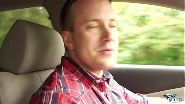 Skinny Brunette Fuck In Car With Big Cock Stranger  thumbnail