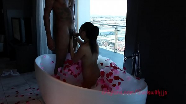 romantic set up asian gets fucked and sucks cum out of abc