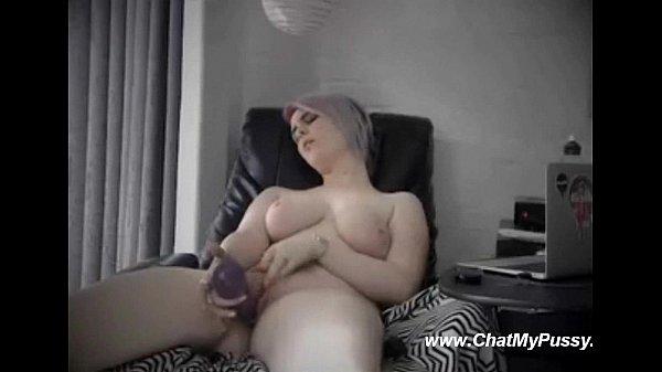 Big Titted Slut Masturbating Online Chat – ChatMyPussy.com