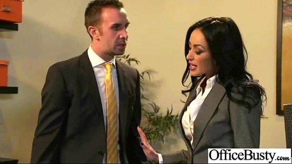 Slut Office Girl With Big Juggs Enjoy Sex movie-05