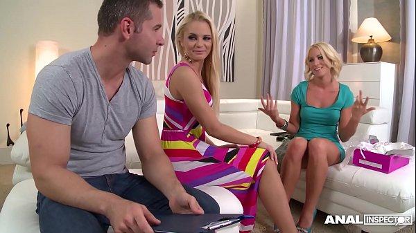 Hungarian Anal Lover Vanda Lust and Kiara Lord Get Their Cumshot