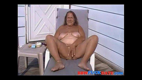 Беременная мастурбирует свою попку