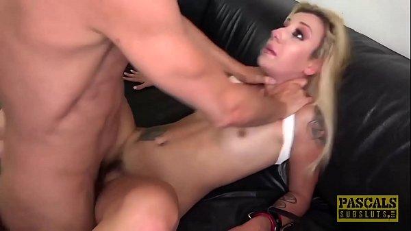 PASCALSSUBSLUTS - Sophia Grace fed cum after anal domination