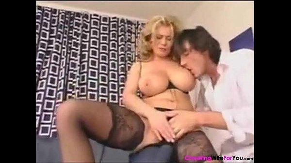 Busty Blonde Wife Fucked
