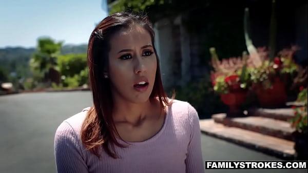 Step Dad Doggystyle Fucking Demi Lopez