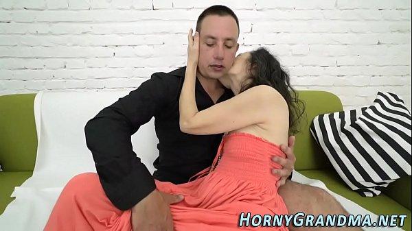 Порно секс русской старухой