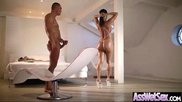 Anal Sex Tape With Big Oiled Wet Butt Girl (franceska jaimes) movie-09