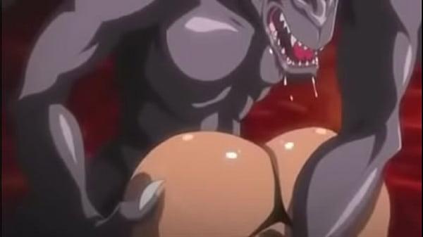 Dark Skin Hentai Girl Gets Gang Banged by Demons – Hentaiflex.com