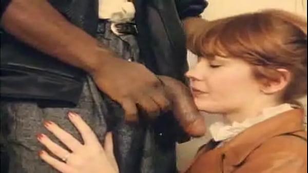 Interracial vintage guys enjoy suck