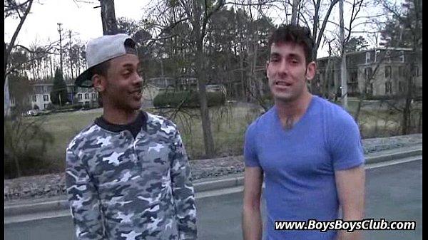 Interracial Gay Bareback Porn Video 02
