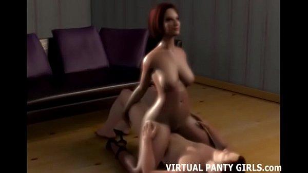 Аниме порно с рыженькой