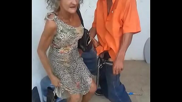 Casal Velhos Fodendo