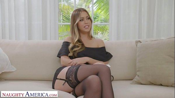 Naughty America - Your wife, Kassandra Kelly (Alina Lopez), fucks a stranger and you watch