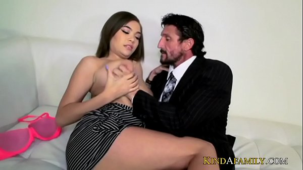 KindAFamily stepdaughter gets pounded my stepdads big cock