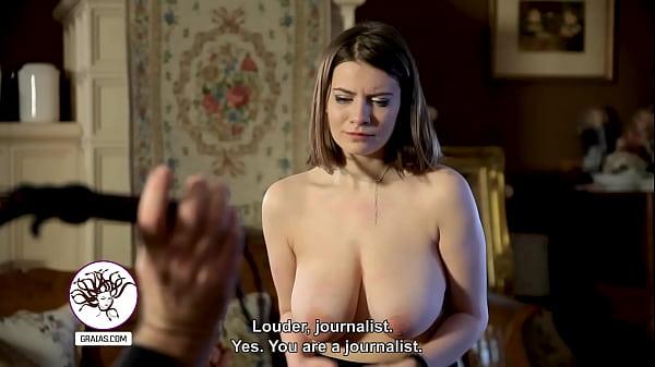 Big fat boobs tortured hard