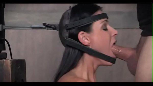 She has no choice but to choke on dick