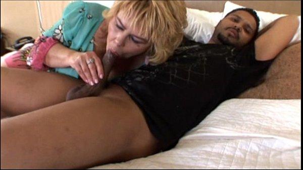 Old Granny whore taking a big black dick in Hot Grandma Video
