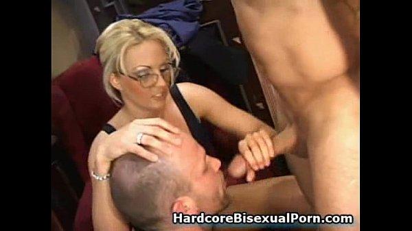 Sexy girls fucking with bi guys