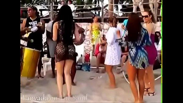 Секс с блондинкой в красном белье видео