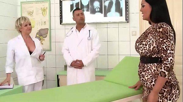 Hospital threesome SEX