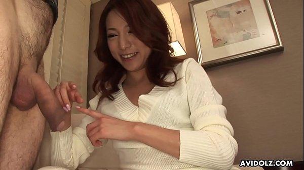 Japanese housewife, Honoka Sakura is sucking a stranger's dick, uncensored