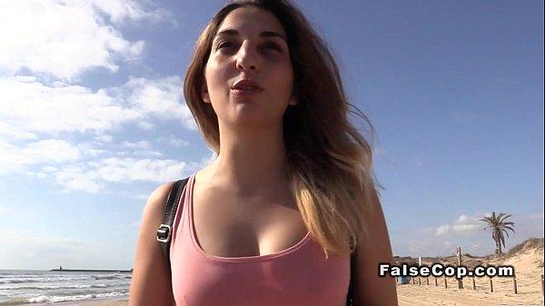 Русское порно гаишник остановил нарушительница