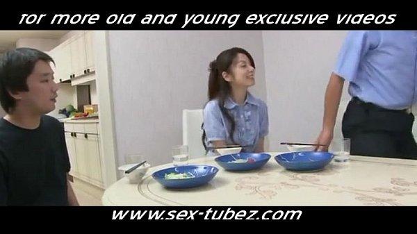 Секс японца с дочкой друга